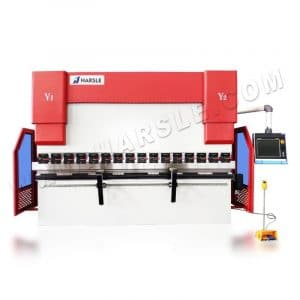 135 ton CNC Press Brake with DA-66T CNC Motorized Crowning System