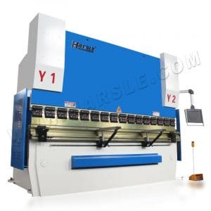 WE67K-200T/4000 CNC press brake with 4+1 axis ,light curtain for backgauge
