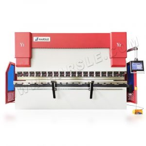 135T/3700 CNC Hydraulic press brake machine backgauge with light curtain