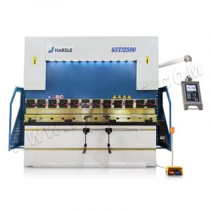 WE67K-63T2500 Hydraulic CNC Press Brake with DA-52S, China sheet bending machine