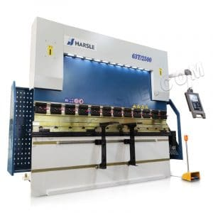 4+1 axis CNC sheet metal bending machine, 63T/2500 DA52S CNC press brake
