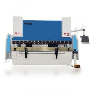 CNC metal sheet press brake machine with DA58T controller