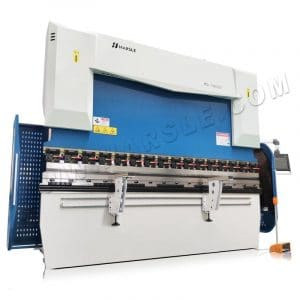 CNC press brake DA58T electro-hydraulic 160T bending machine  for steel