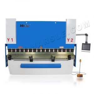 HARSLE DA58T CNC hydraulic press brake for 160T/3200 light curtain for backgauge
