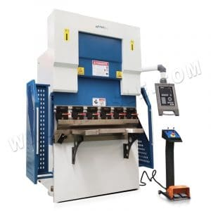 40T/1200 Smart CNC press brake, 4 axis compact bending machine