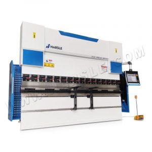 110T/3200  electro hydraulic servo CNC press brake machine with DA66T