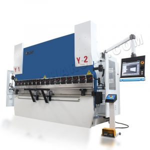 CNC bender for sheet box with DA66T , 6 Axis backgauge