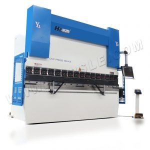 DA58T High Power CNC Sheet Metal Brake Press Machine , Servo Electric Press Brake