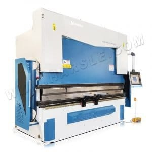 Sheet metal press brake machine with DA69T controller and WILA quick clamp
