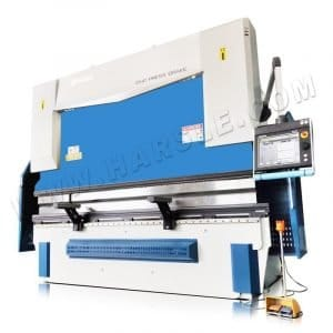 CNC hydraulic press bending machine for metal sheet box and pan