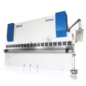 E21 Stainless Steel Sheet Metal 200T/4000 mm Hydraulic Press Brake Bending Machine