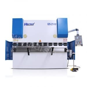 WC67K-125T/2500 NC press brake machine , E21 steel folding machine