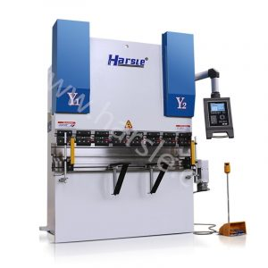 high quality CNC DA52S control full automatic small hydraulic press brake
