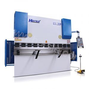 E21 hydraulic press brake, NC hydraulic 2.5 meters steel bending machine with mechanical crowning system