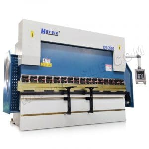 125 Ton sheet metal press brake machine, CNC bending machine with DELEM DA52S