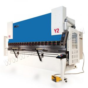 HARSLE 4-Axis CNC Press Brake with DA52S, Smart 125T/4000 hydraulic bending machine