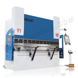 100T 3200mm CNC hydraulic press brake, steel bending machine with S530 controller