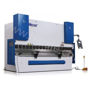 WE67K 4 axis SMART 200T4000 CNC Electro Hydraulic Press Brake Machine with DA-52S
