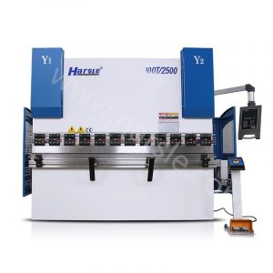 HARSLE SMART 100Ton x 2500mm CNC Electro Hydraulic Press Brake with DA 52S, 3 axis bending machine