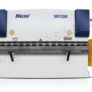 Fast speed NC E21 hydraulic bending machine,HARSLE 100T3200mm Inox press brake for sale