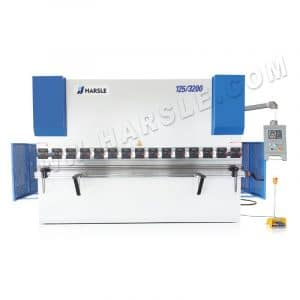 125T3200 Hydraulic press brake HARSLE with E200P, X and Y axis servo motor control