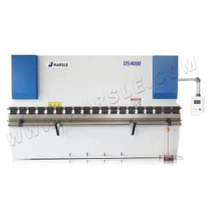 HARSLE NC Press brake with CYBELEC CT8 ,Sheet bending machine 125Tx4000 touch screen