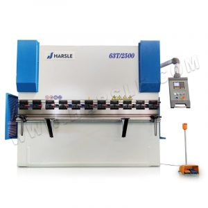 Economical ESTUN E200P metal steel bending machine , 63T/2500 hydraulic press brake machine