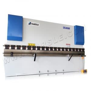 3 axis press brake 125t max 4000 bending length with CT8 controller
