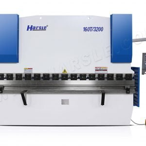 Easy to use E21  NC Hydraulic Press Brake WC67K 160T ,3.2mtrs Sheet Metal Bending Machine