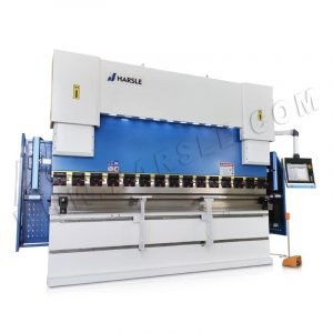 6-Axis CNC Press Brake WE67K-200T/3200 with DELEM DA66T control System and One-key Clamping System