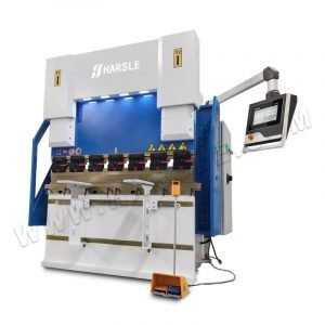 WE67K-40T/1600 DA53T hydraulic full CNC press brake bending machine