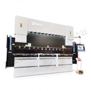 CNC press brake machine for the sheet box, Automatic bending machine with DA69T controller with 8+1 axis