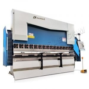 CNC sheet metal bending machine with DA66T controller, CNC 6+1 axis press brake machine