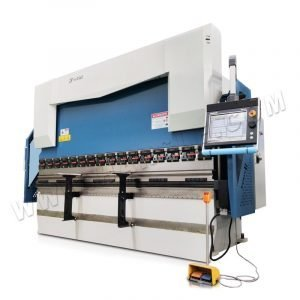 110T/3200mm 6+1 axis Hydraulic Press Brake Machine with  DA66T control System for CNC bending
