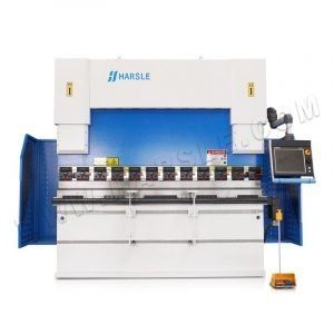 100T/2500 CNC DA66T hydraulic press brake machine with 8+1 axis , 6 axis for backgauge