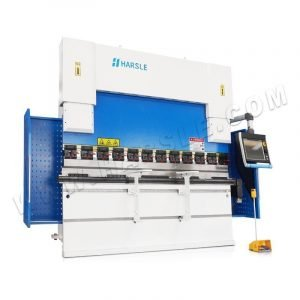 WE67K-100T/3200 CNC press brake machine with DA66T controller, CNC hydraulic bending machine with 8+1 axis