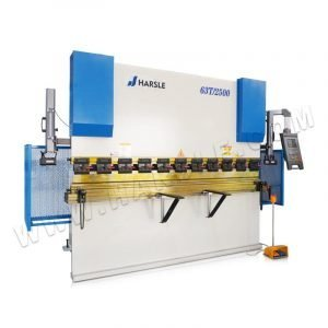 63T/2500 hydraulic press brake machine with E21 controller, hydraulic bending machine with laser protection