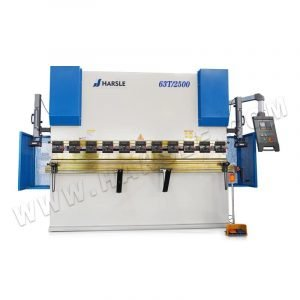 E21 press brake folder sheet bender machine, sheet metal NC 63T/2500 hydraulic bending machine